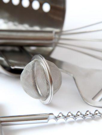 los instrumentos de cocina